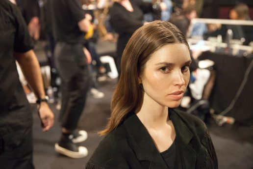 Backstage, Aveda, Stella McCartney, hår, mode, fashion, hårpleje
