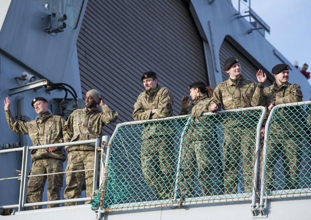 soldat, soldater, tropper, danmark, estland, baltikum, polen, nato, rusland