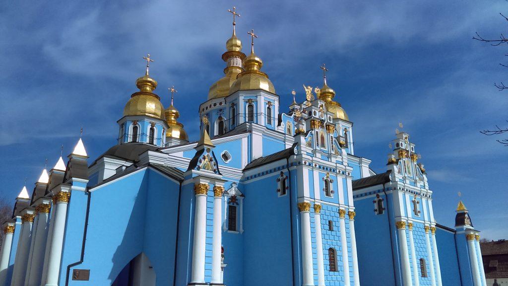Kiev har nogle vilde og meget farverige bygninger. (Foto: Pexels)