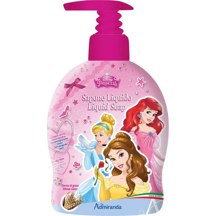 Disney, Disney-gaveidéer, gaveidéer, idéer, tegnefilm, animation, cover, sæbe, håndsæbe, vaske, rent, Disney-prinsesser, prinsesser, Askepot, Belle, Arial, den lille havfrue, skønheden og udyret