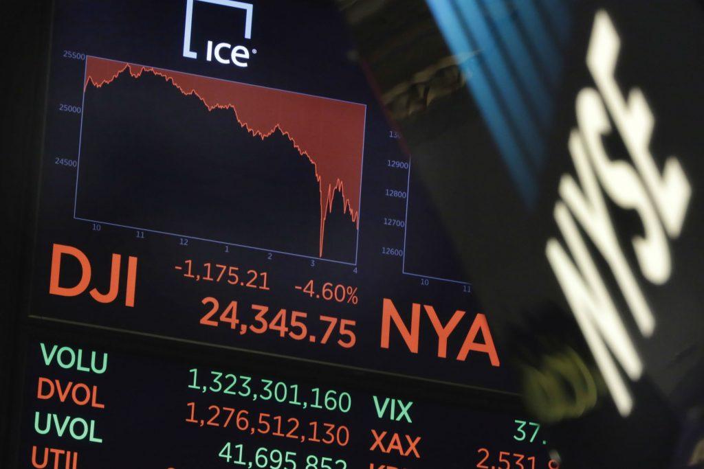 aktie, aktier, aktiemarkedet, kurser, styrtdyk, røde tal, wall street, penge, økonomi, investorer, renter, kurs, bange, sælge