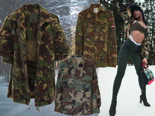 armyjakker camouflagejakker militærjakker vintage armytrenden