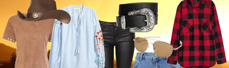 westernstilen, westen, western stilen er tilbage, western stilen, stil, mode, fashion, tøj, sommer, skjorte, shorts, nederdel, solbriller, læder, nitter, cowboy, cowboy tøj, cowboy stilen,