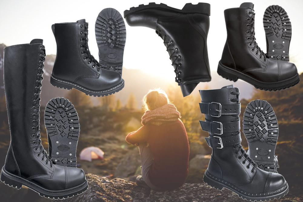 militærstøvler, militærtøj