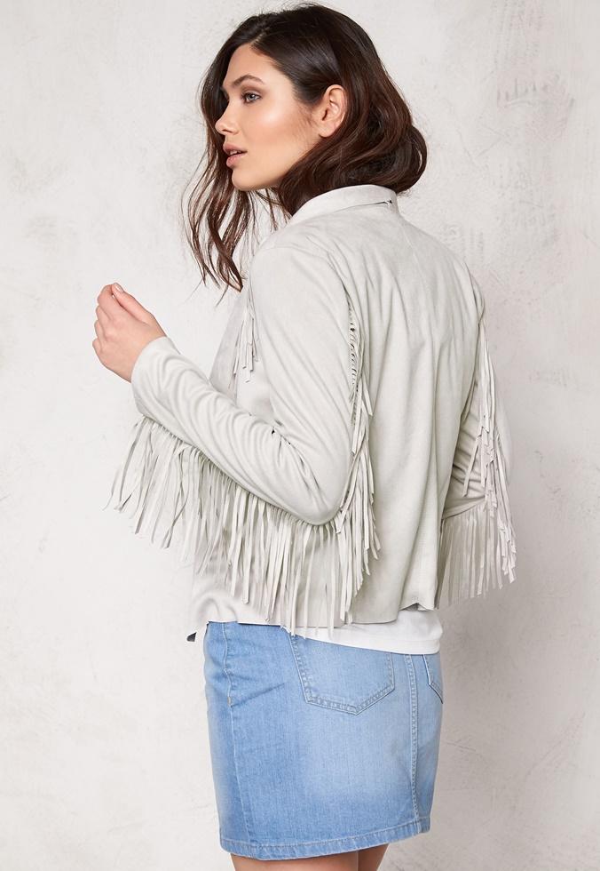 jakke, læderjakke, frynser