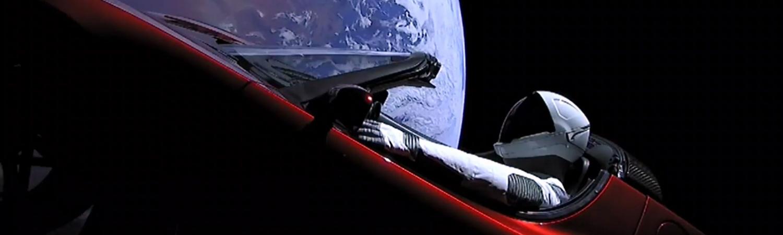 elon musk, spacex, tesla, david bowie, space oddity, raket, raketopsendelse, rumkapløb, privat rumkapløb, rummet, universet, opsendelse, kredsløb, jorden, månen, mars