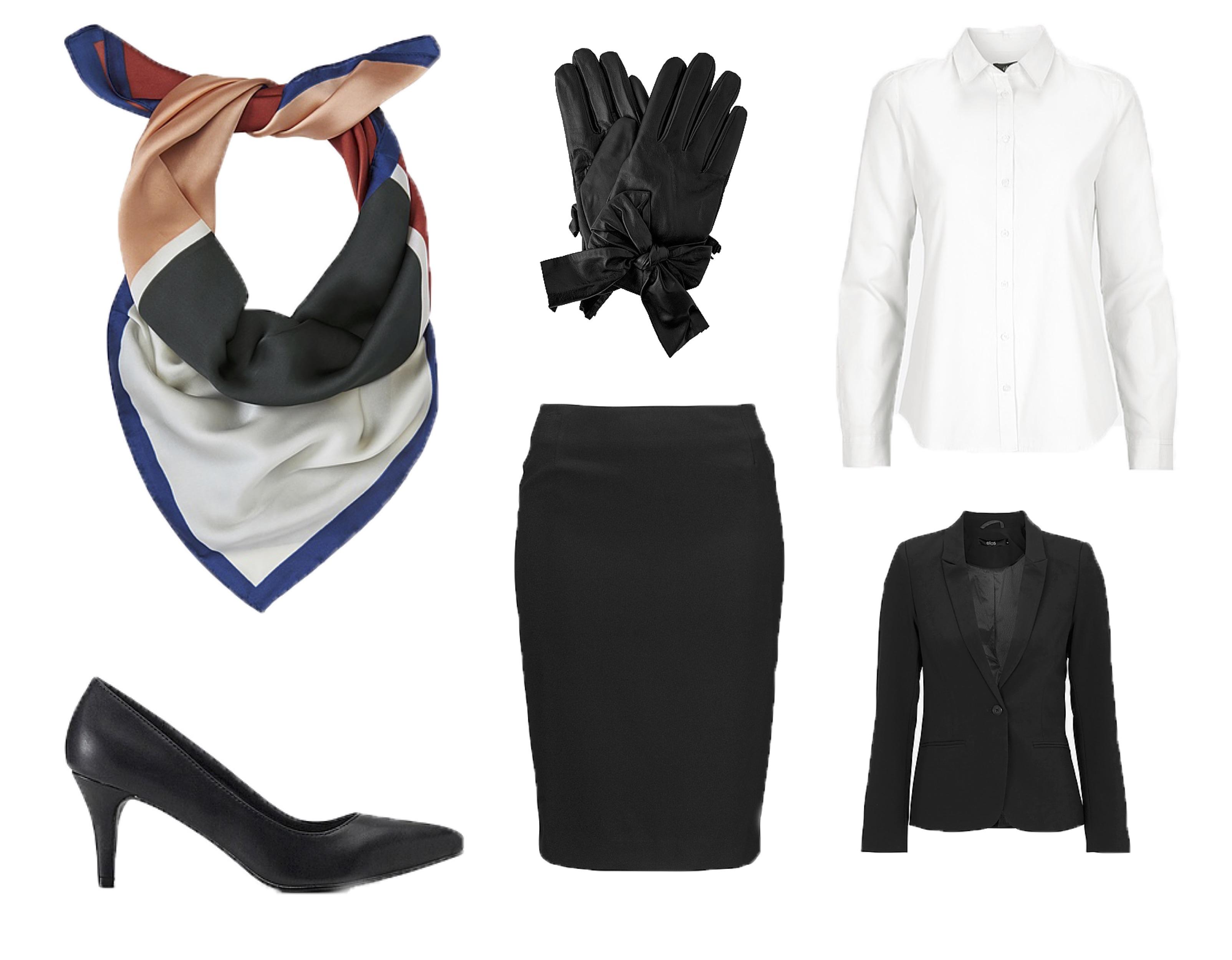 Fastelavn, fastelavnskostume, kostume, stewardesse, outfit