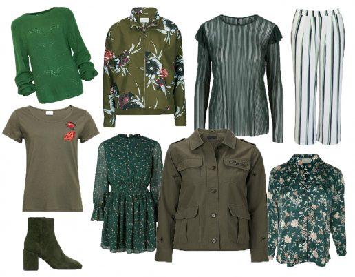 Grøn, ellos, grønne farve, farver, mode, fashion, shopping, tøj, modeguide, inspiration, forår