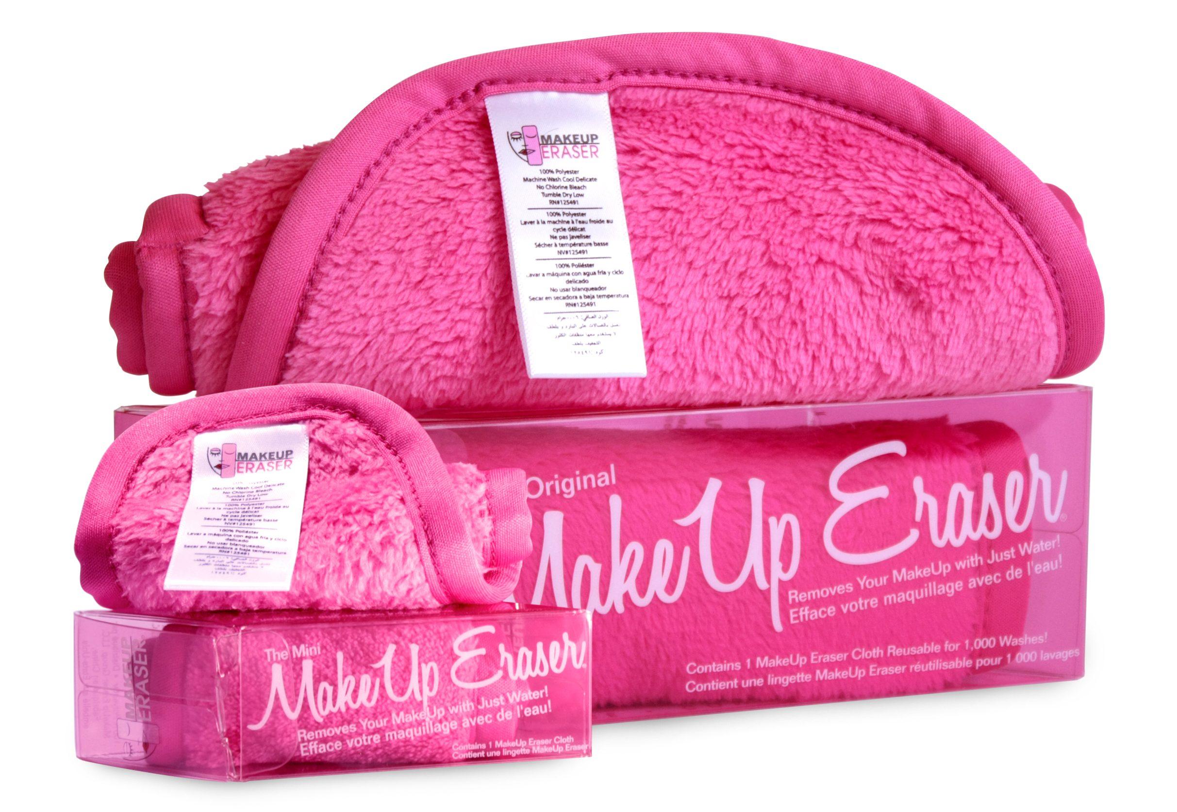 Makeup Eraser, Pink, Mini, pris kr. 95,-