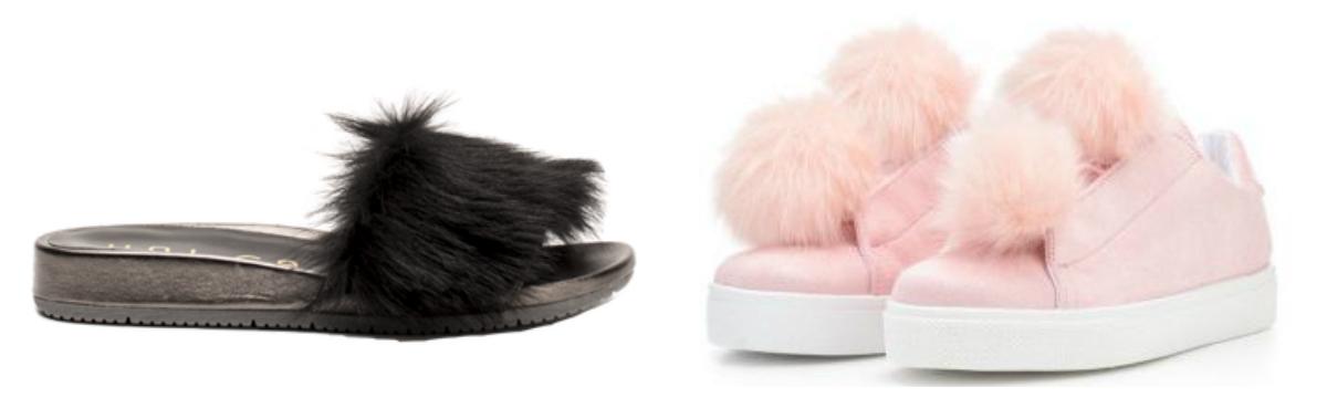 Forårssko, sko, forår, shopping, sneakers, pom pom, flip flips, pels, sandaler, slippers