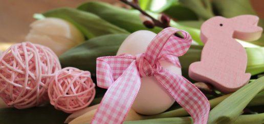 Påske, æg, hare, traditioner, forår, pink