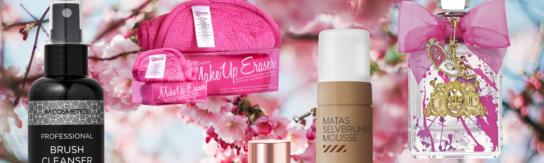 collage aprilfund kosmetik