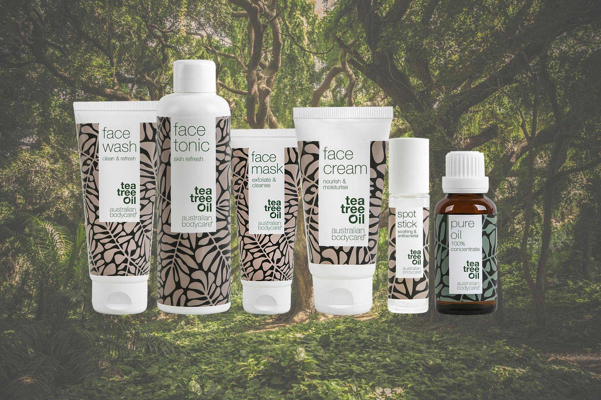 Tea Tree Oil er bakteriedræbende og er effektiv i kampen mod uren hud