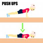 push ups, træning