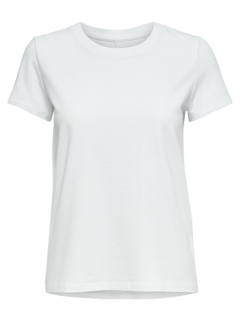 T-shirt, hvid T-shirt, white shirt, white tee, only, mode, fashion