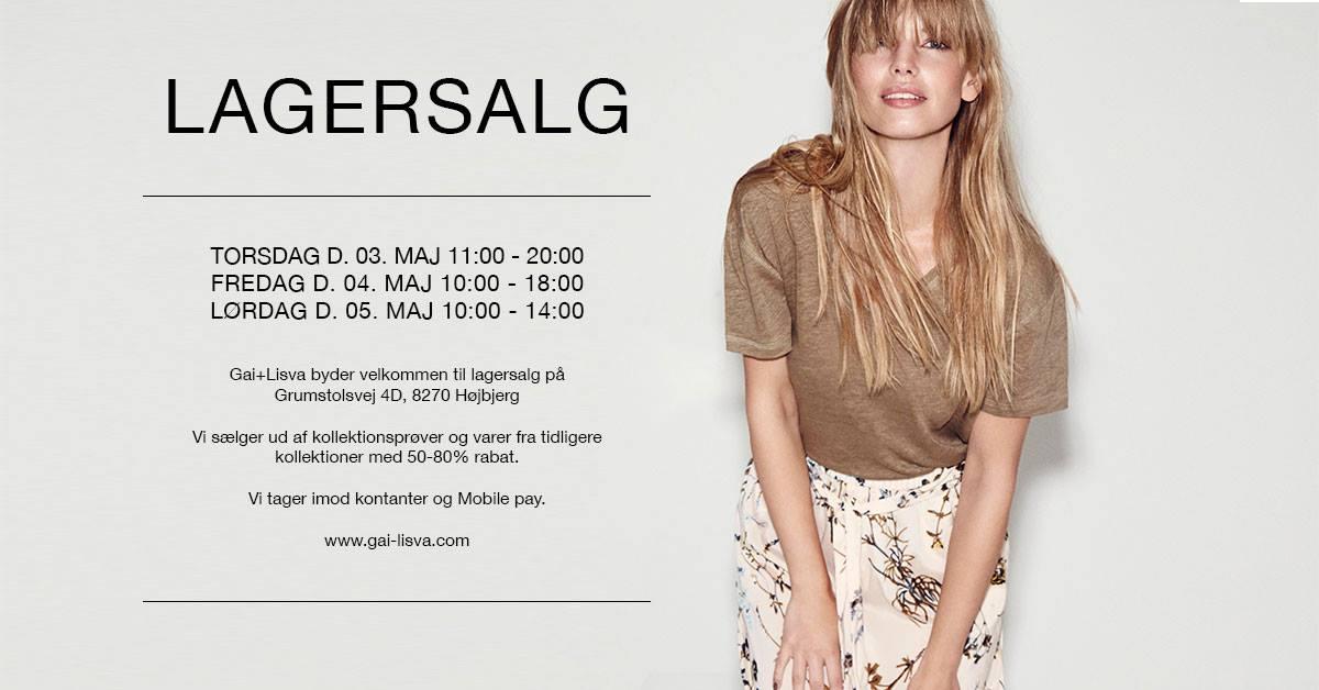 Gai+Lisva Lagersalg Maj 2018, kultur, aarhus, danmark, lagersalg, shopping, kulturguide