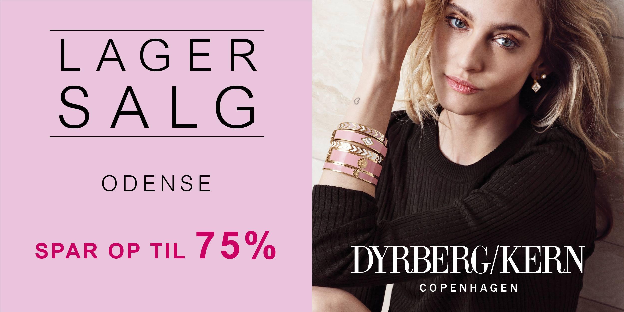 Dyrberg/Kern Lagersalg i Odense, kulturguide, kultur, shopping, danmark, lagersalg