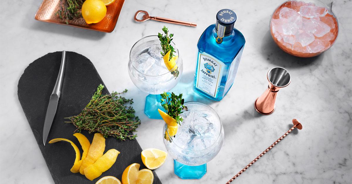 gin & tonic, gin tonic, gin, tonic, drinks, alkohol, bombay sapphire