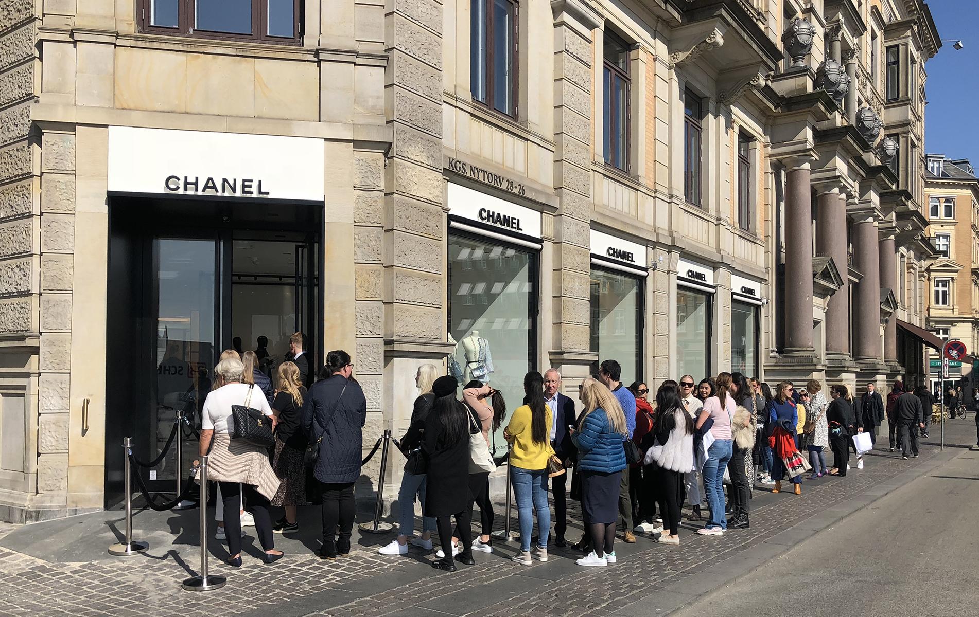 Chanel, købehavn, kongens nytorv, coco chanel, shopping, mode, fashion, butik