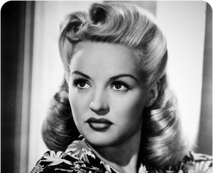 vintage, hair, betty grable, victory rolls,