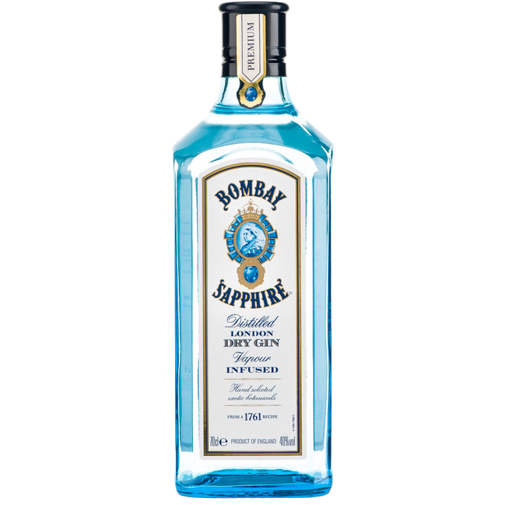 gin & tonic, opskrift, gin, tonic, drinks, alkohol, bombay sapphire