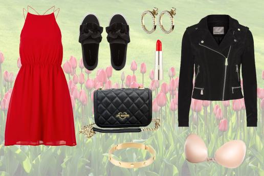 collage, sommer, outfits til sommerens fester