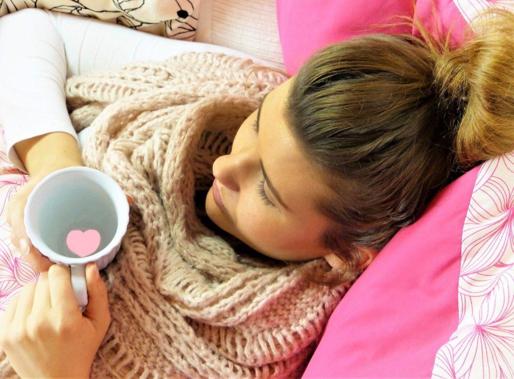 syg, influenza, mor, gode råd