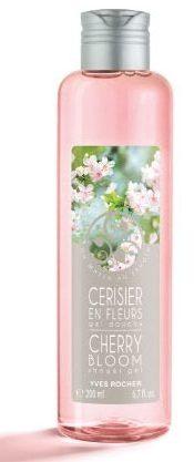 yves rocher shower gel kirsebærblomster