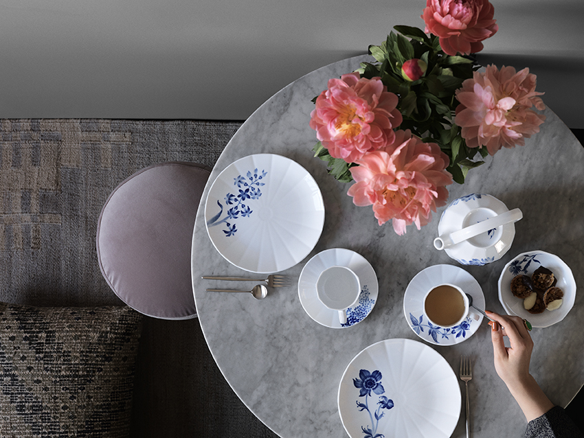 Royal Copenhagen Blomst_Tea_tablesetting_LR