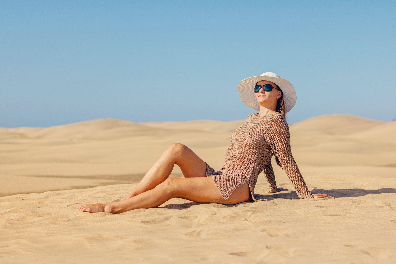 solbriller hat solhat strand