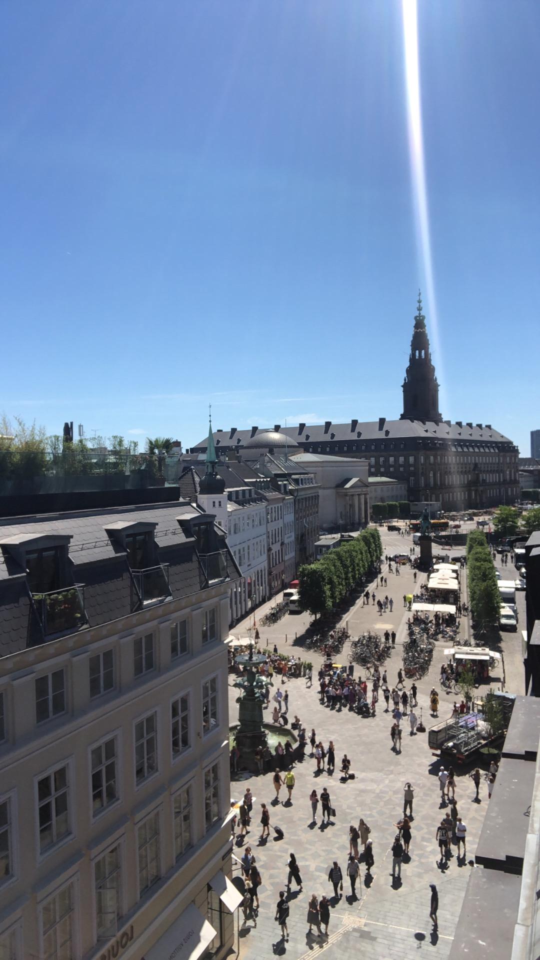 København, Illum, rooftop, illum rooftop, sommer, strøget, storkespringvandet