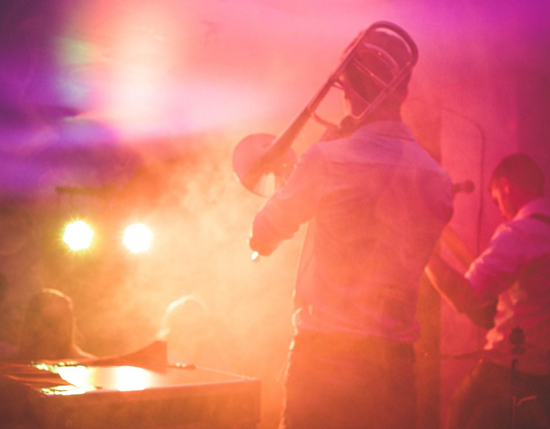 Jazz, musik, scene, koncert, show, optræde