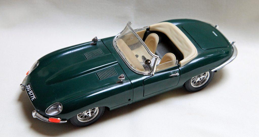 En grøn Jaguar - ja tak. (Foto: Pxhere)