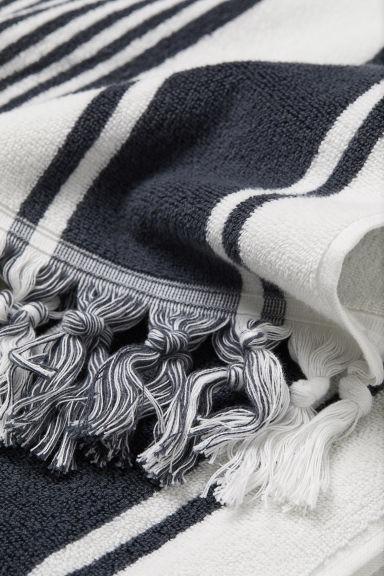 h&m håndklæde striber bolig