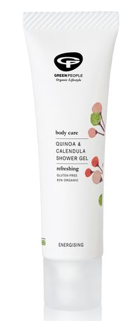green people quinoa travel size shower gel