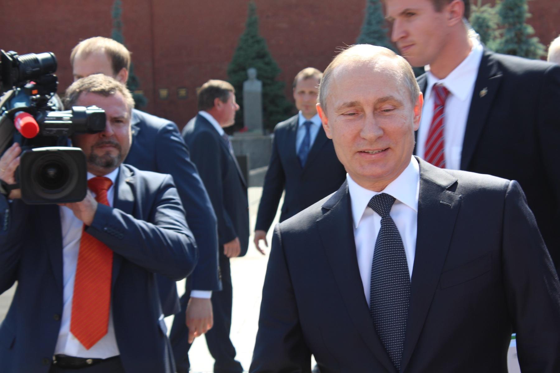 Putin, rusland, præsident