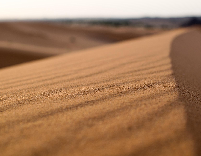 Ørken, sand, sahara, varme, tørke, hede, hedeslag