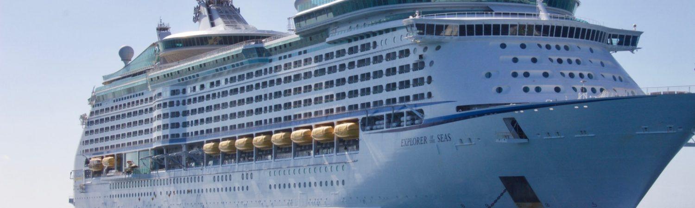 Krydstogtskib, krydstogt, skib, cruise, turist, ferie, vand, havet