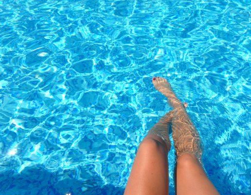 Pool, sommer, sommerferie, ben, bare ben, bade, badning, ben, barbering, barbere, sommer
