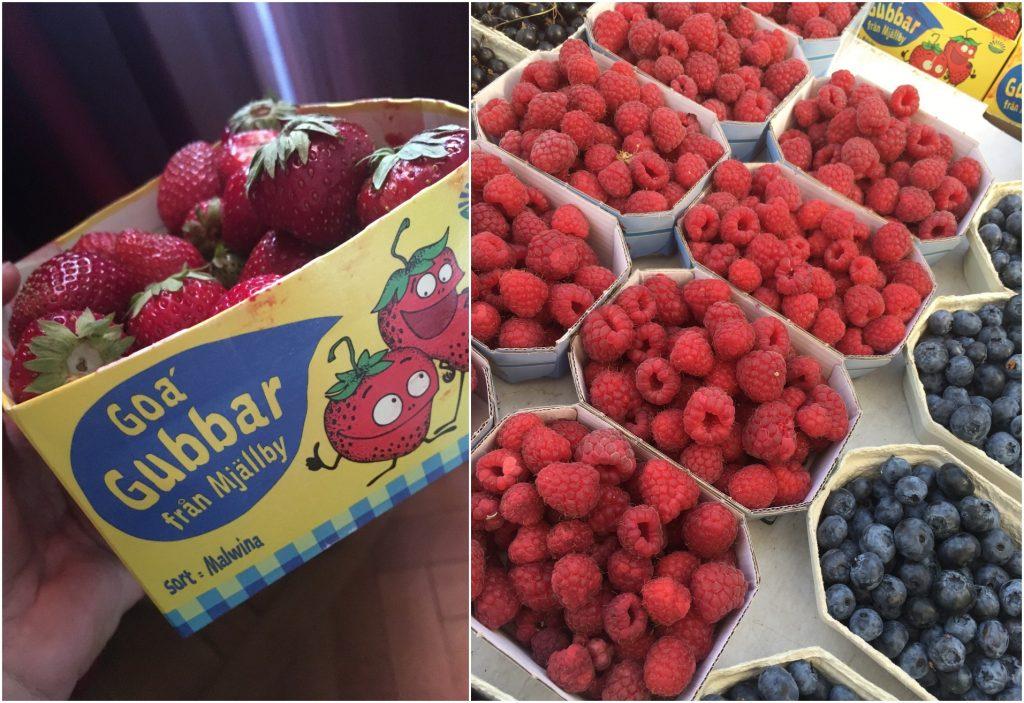 frugt malmø sverige hindbær