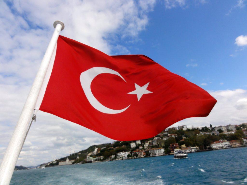 Tyrkiet, tyrkisk flag. tyrkisk, flag, erdogan