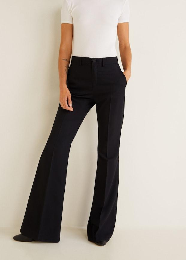 Sorte bukser fra Mango