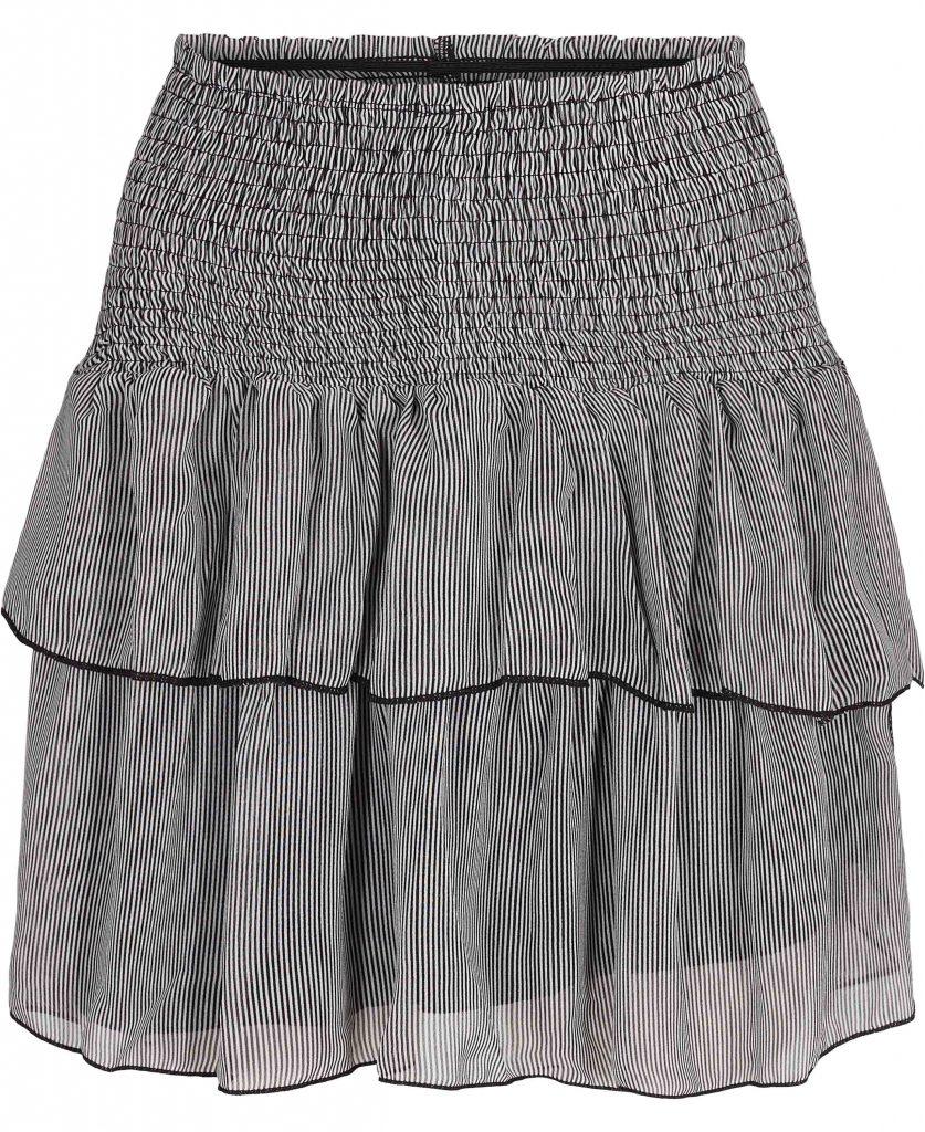 nederdel flæser neo noir magasin striber
