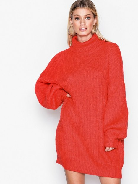 Roll Neck Oversized Dress