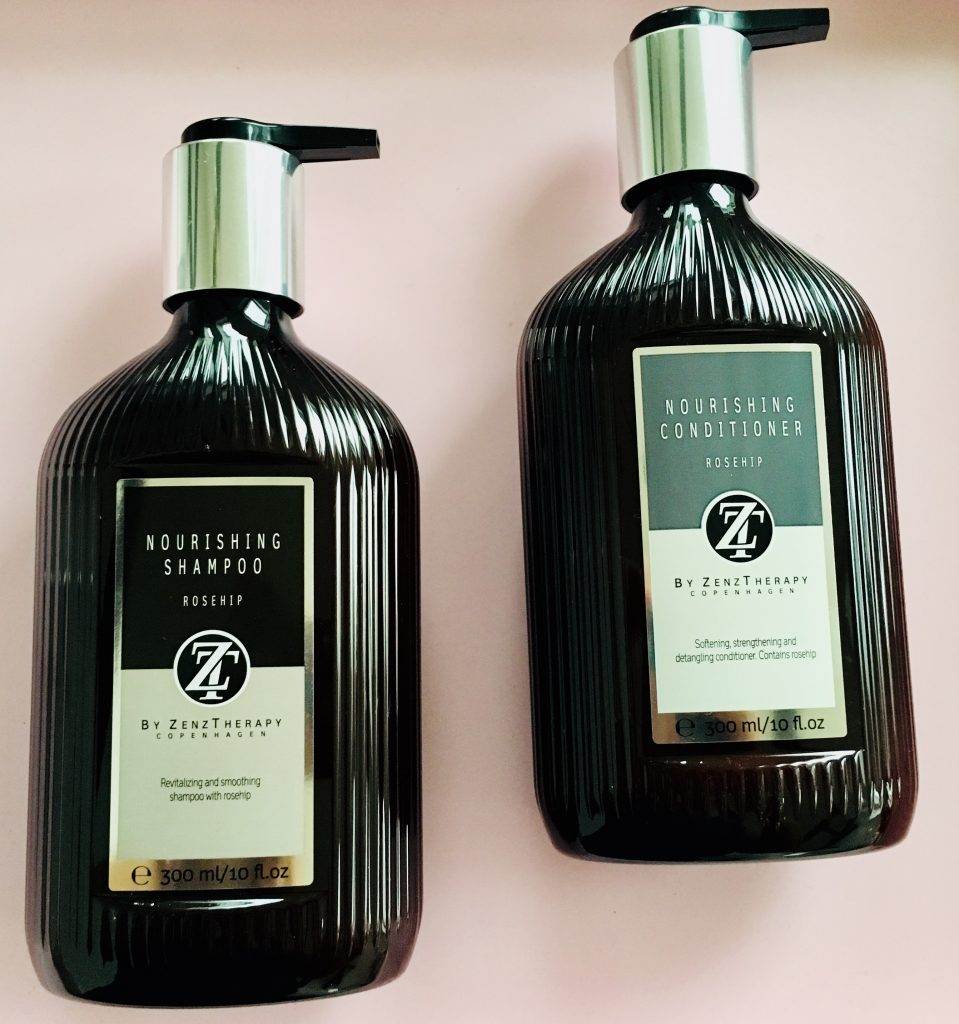 zenztherapy shampoo og conditioner