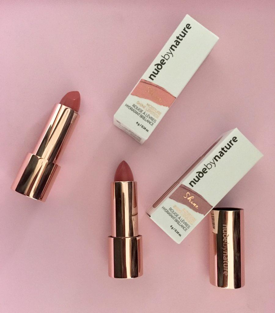 nudebynature makeup læbestift