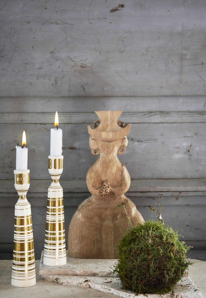 bjørn wiinblad lysestage 100 år Quatre Couleurs_Interiør_stager