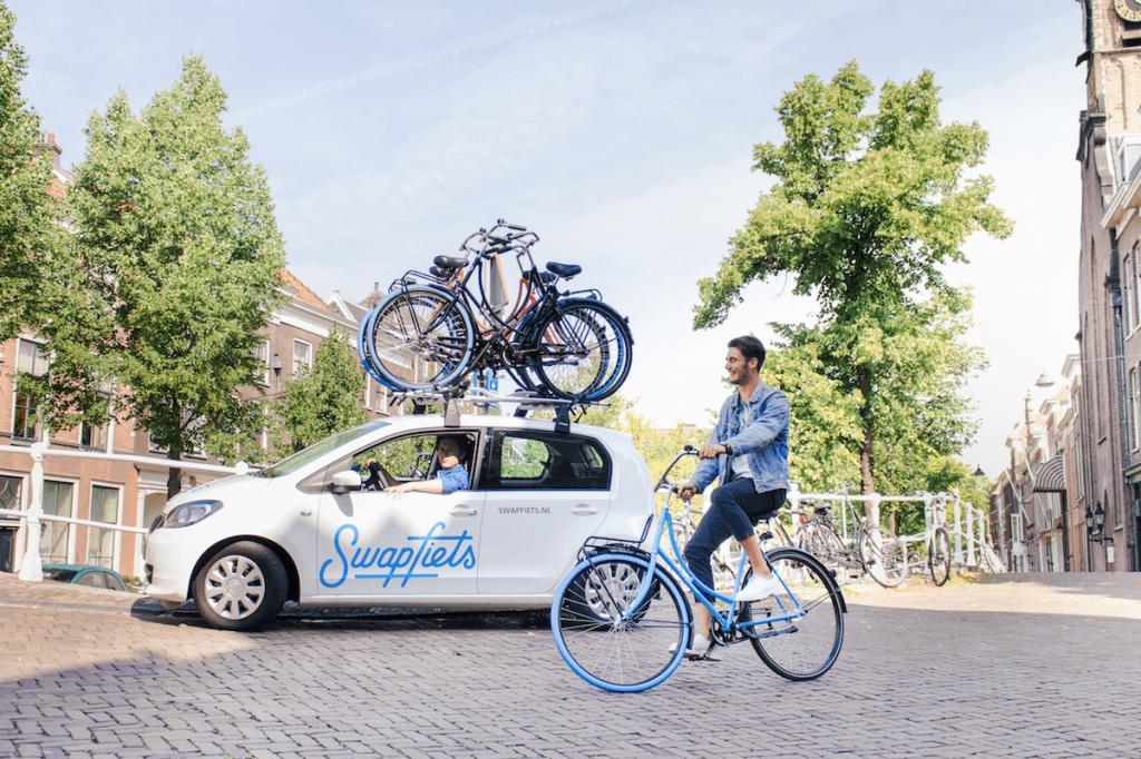 Cykelkonceptet Swapfiets