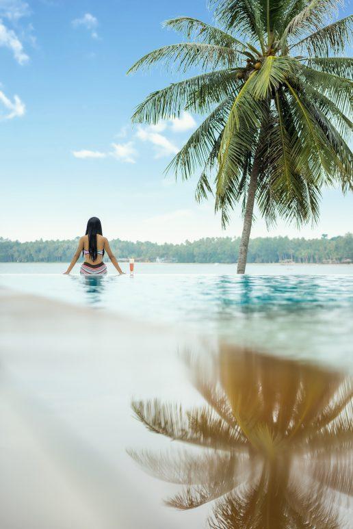 strand pige palme ferie sommer (Foto: Pxhere)