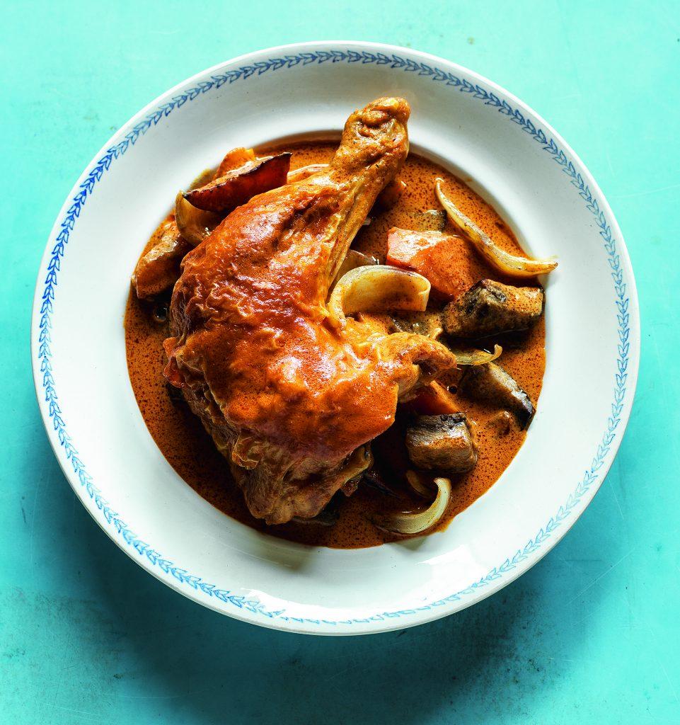 kylling i karry - opskrift - lele anh le